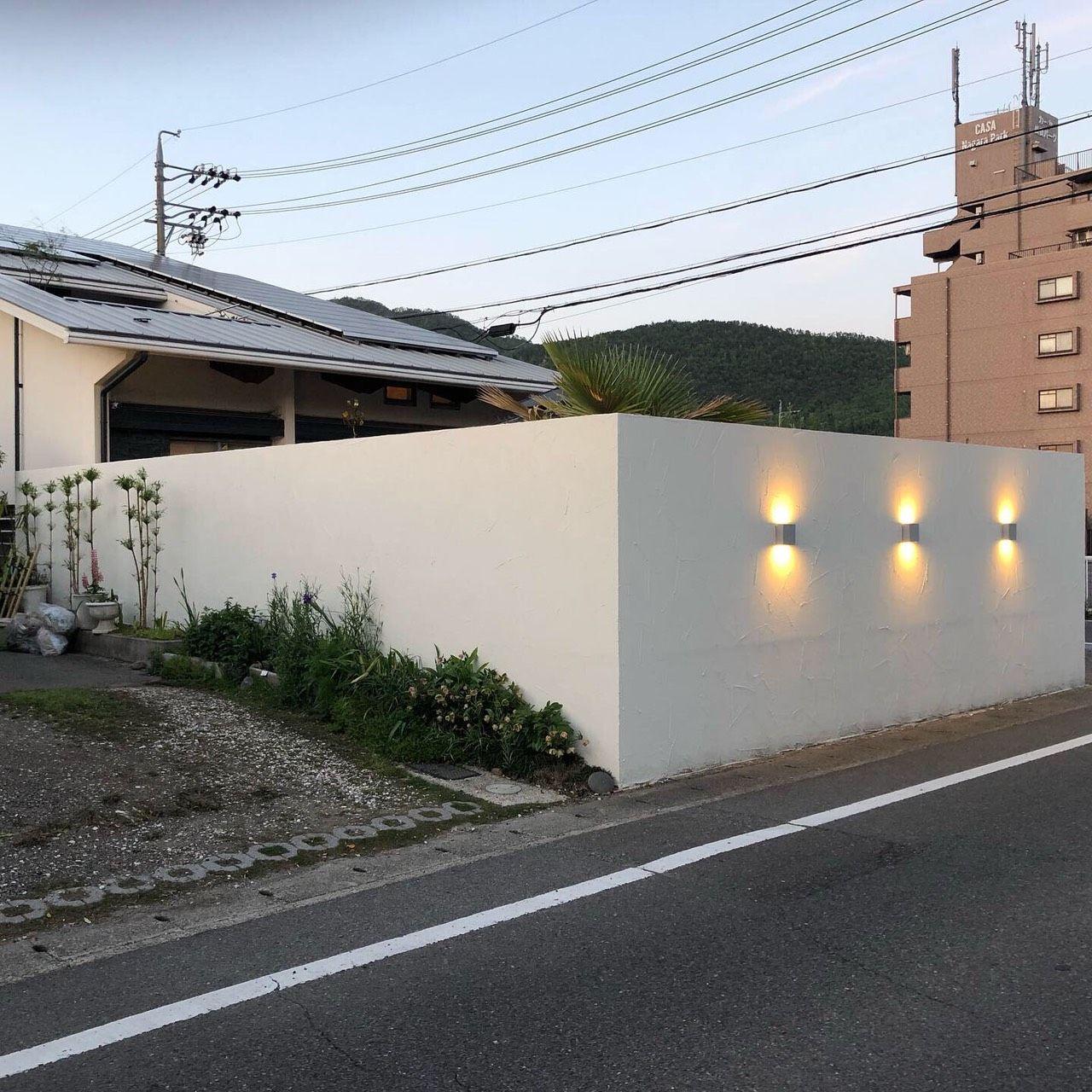 グランドアートウォール 塀の高さ2 4m 庭の塀 エクステリア ガーデン デザイン
