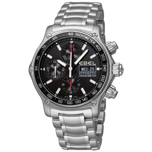 Ebel Men's 9750L62/53B60 1191 Discovery Chronograph Black Dial Watch has been published to http://www.discounted-quality-watches.com/2012/06/ebel-mens-9750l6253b60-1191-discovery-chronograph-black-dial-watch/
