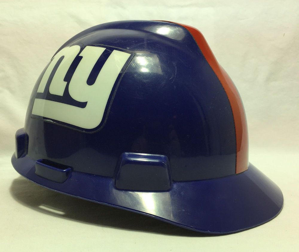 New York Giants Safety Hard Hat Construction Helmet MSA Approved – Medium   NewYorkGiants bc4e9506e05