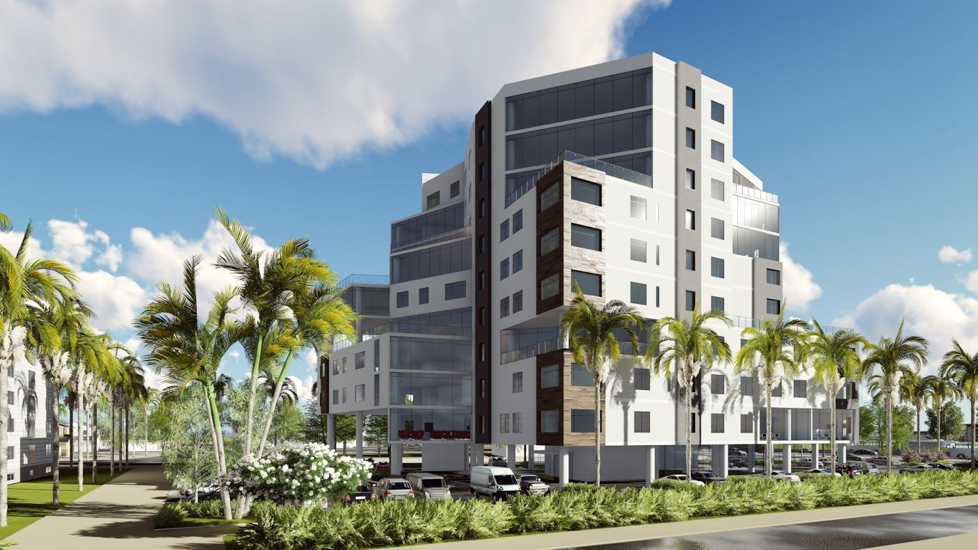 This 39 unit multi residential design is an assisted senior living facility Th