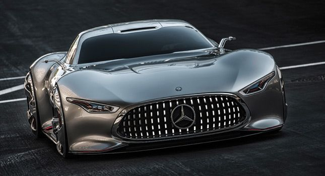 Mercedes's AMG Vision Gran Turismo 1:1 Scale Model for Gran Turismo 6