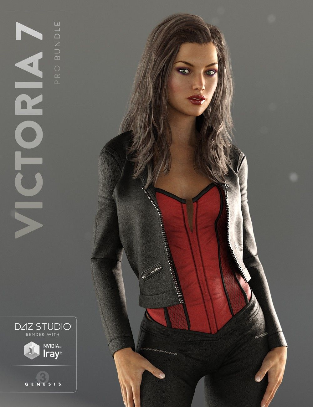 Victoria 7 Pro Bundle 3D Models and 3D Software by Daz