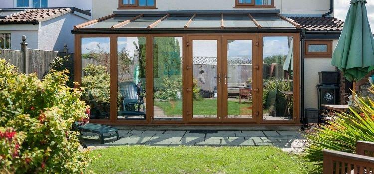 Haus Aus Holz Selber Bauen wintergarten holz selber bauen tipps aussen hinterhof haus