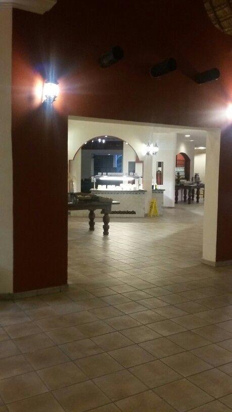 Salle à manger catalonia Playa maroma Mexique 19 au 26 janvier 2016