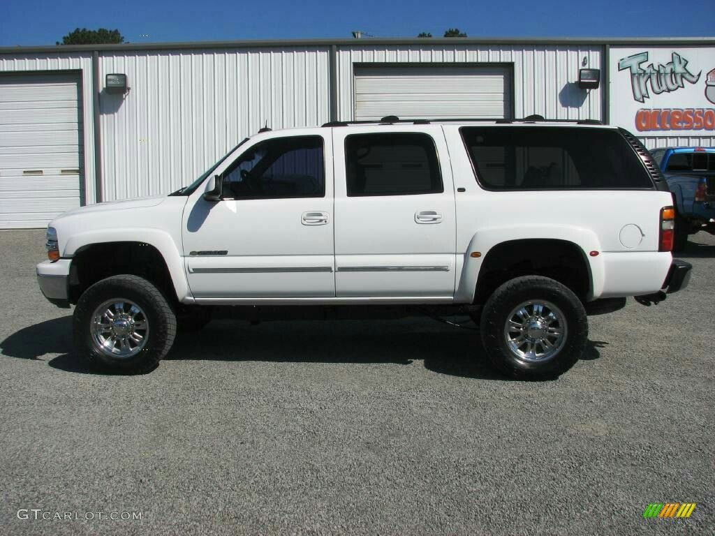 2004 chevrolet suburban 2500 quadrasteer lifted