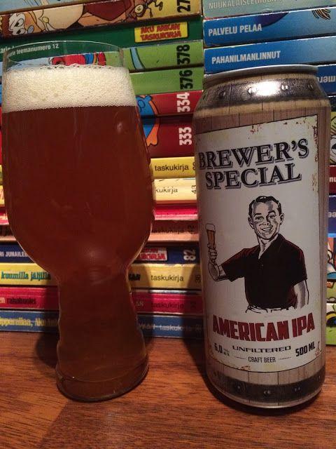 Saimaan Brewer's Special American IPA