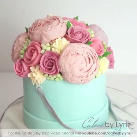 Photo of Flower Bouquet Cake