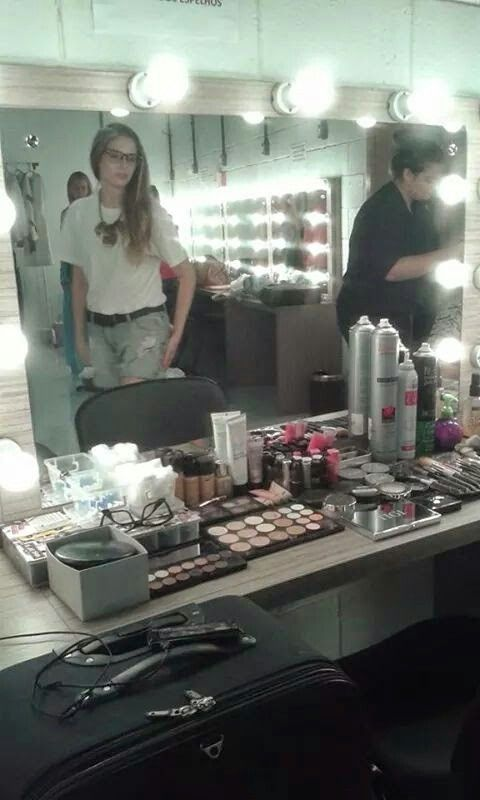 Backstage Camarim -Teatro Feevale