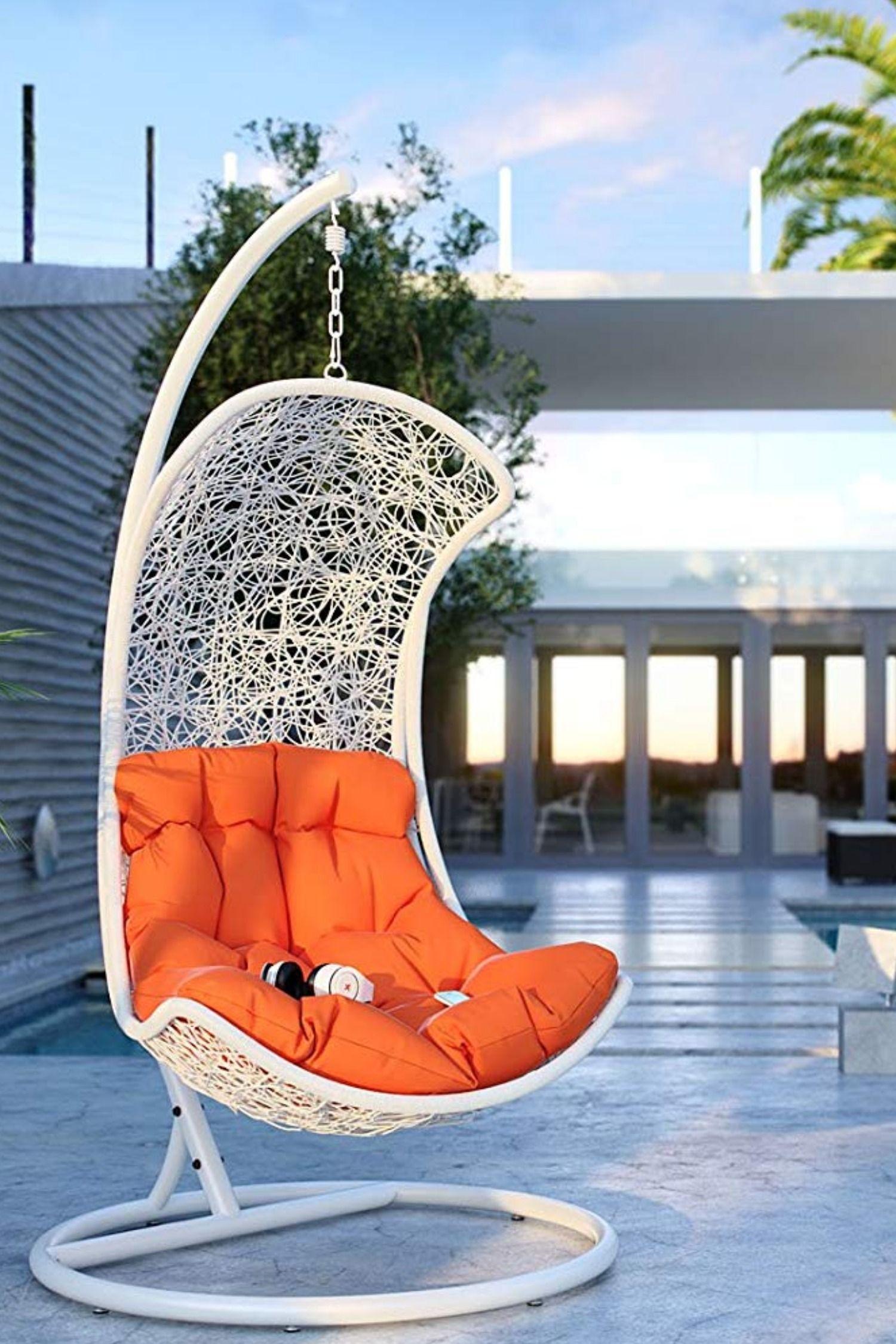 Outdoor Wicker Patio Swing Chair Set Hanging Chair Outdoor Patio Swing Chair White Wicker Chair