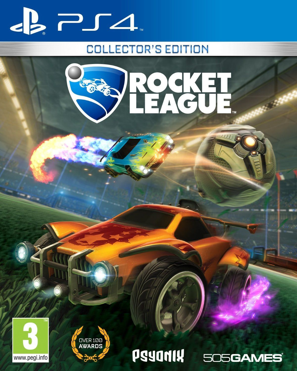 Rocket League Collector S Edition Playstation 4 Video Juegos