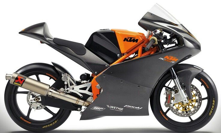 KTM moto3 production racer- only £50k plus another £50k for - vehicle service contract