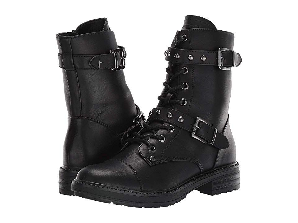 Boots, Buckle boots, Combat boots