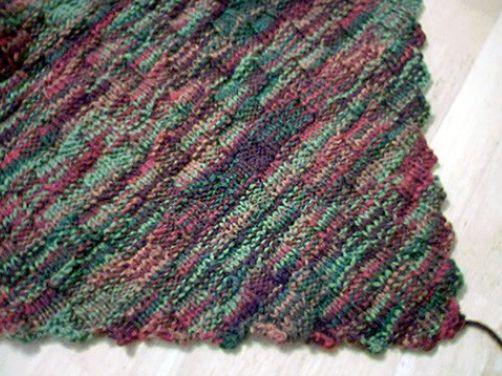 Diagonal Basketweave Blanket | Free pattern, Blanket and Stitch