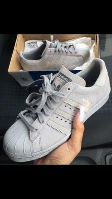 Adidas Superstar Lichtgrijs
