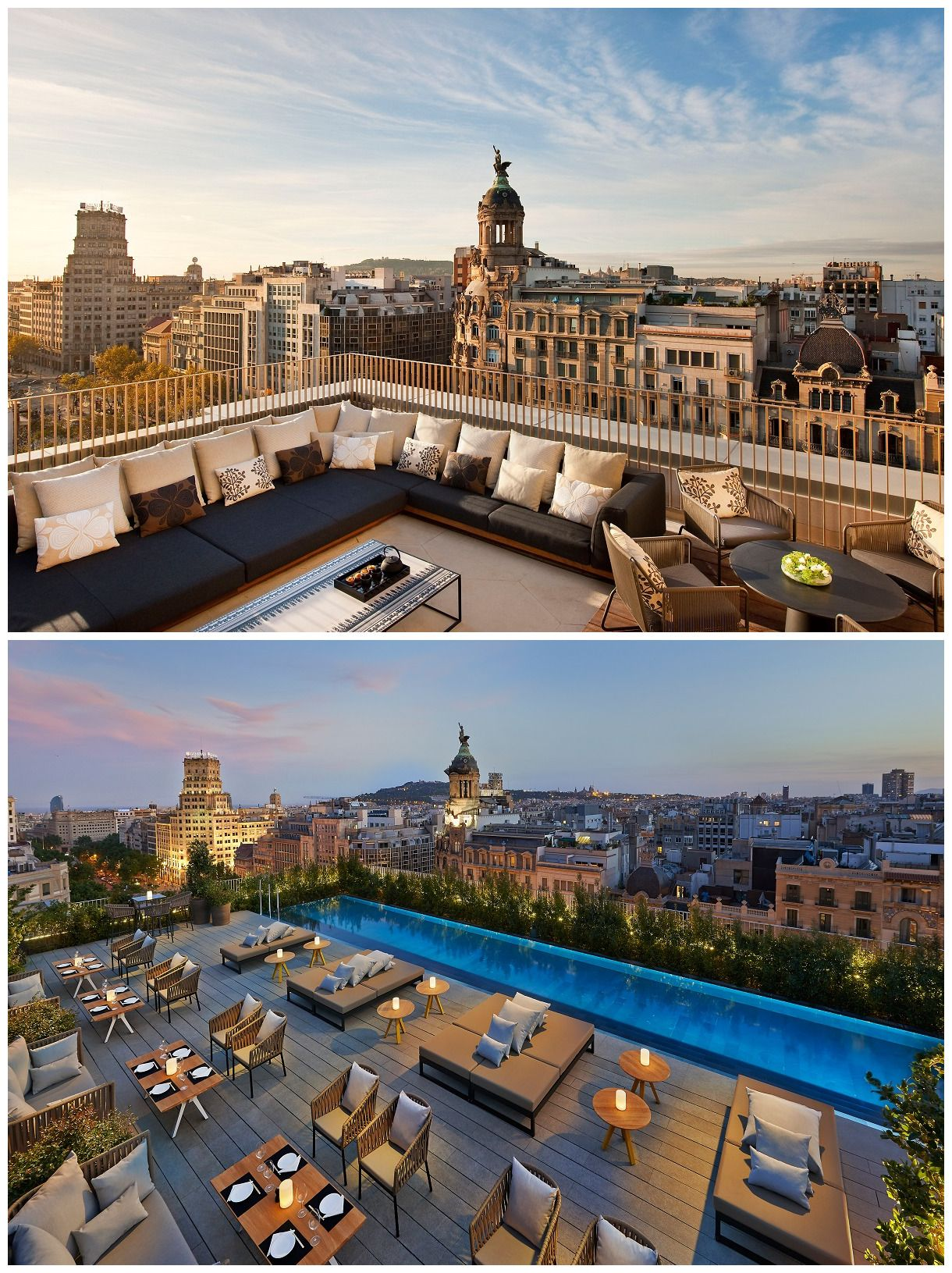 Terrat barcelona workplace design pinterest - Restaurante attic barcelona ...