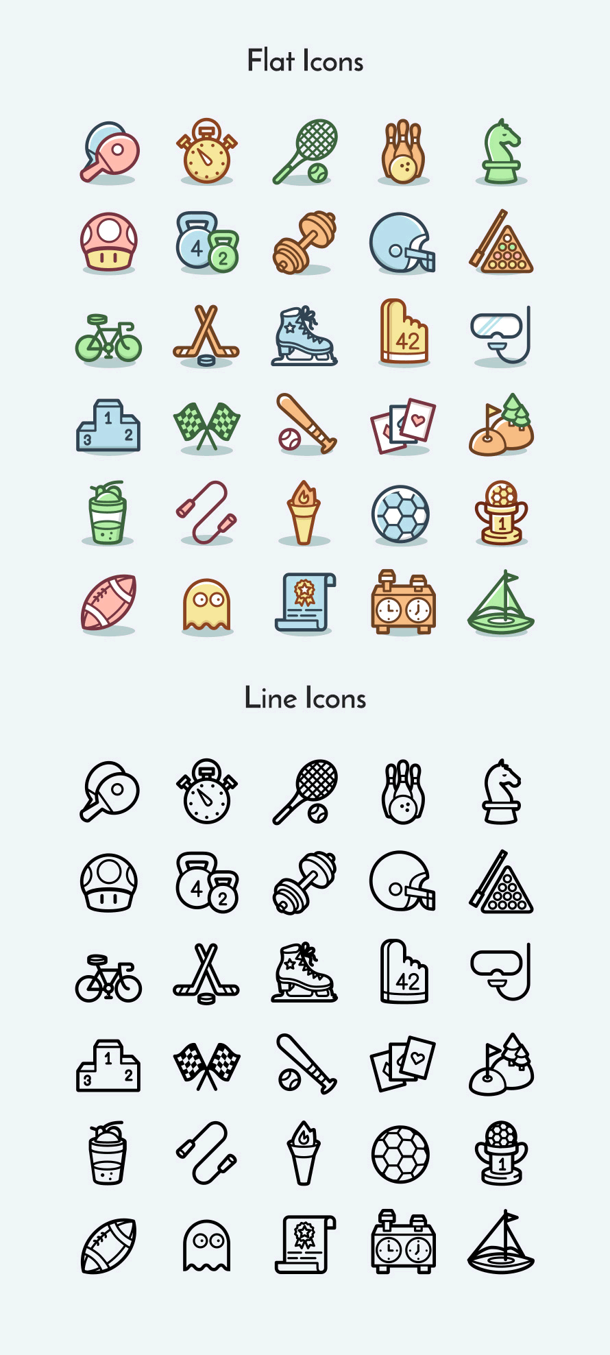Freebie Sports Games Icons Codrops Game Icon Doodle Icon Sport Icon