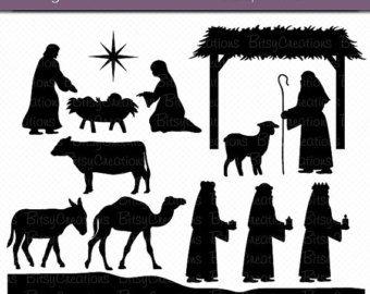 Nativity Silhouettes Elitadearest