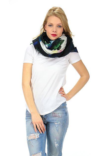 MANILA GRACE - Sciarpe - Abbigliamento - Sciarpa in cotone con stampa a fantasia. - MG999 - € 99.00