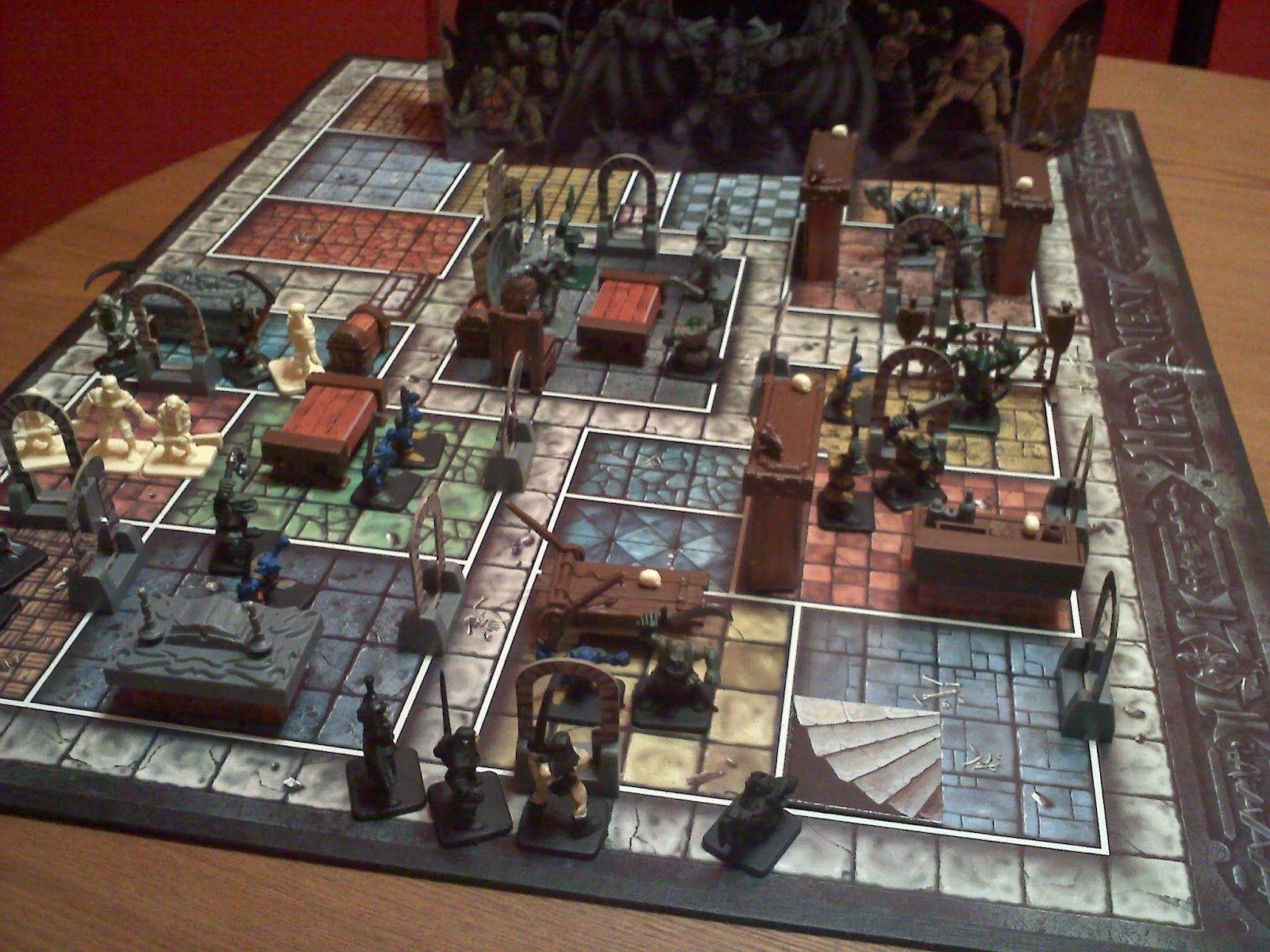 Heroquest Brettspiel