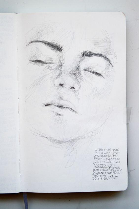 Gesicht #artanddrawing