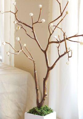 Como Hacer Un Arbol Con Rosas De Papel Diy Pinterest Sobres De - Arboles-de-decoracion