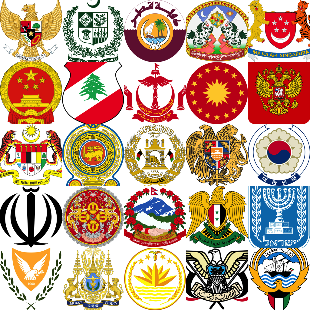 National Emblems – Coat of Arms & Seal Wallpaper / Backgrounds