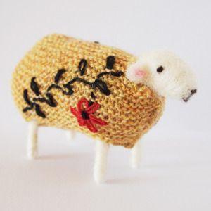 Mary Kilvert handmade sheep