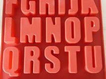 silikonform buchstaben, ca.5 cm hoch | silikonform, silikon, buchstaben