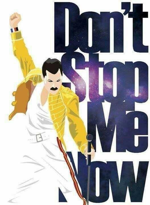 Don't Stop Me Now, written by Freddie Mercury | Leyendas ...