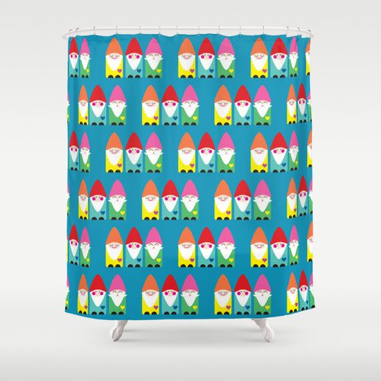 Gnome Shower Curtain Love It