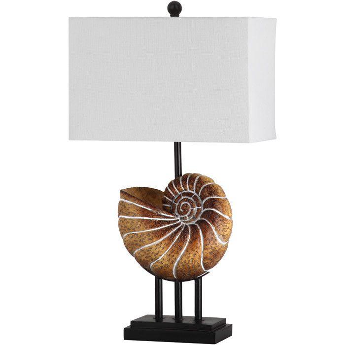Nautilus Table Lamp (Set of 2) - Coastal Christmas on Joss & Main