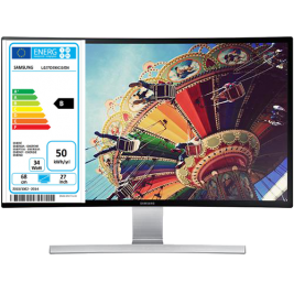 Curved LED Monitor SAMSUNG LS27D590CS, Available at NETNBUY.COM