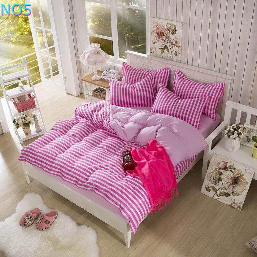 Cotton Checkered Bedding Set