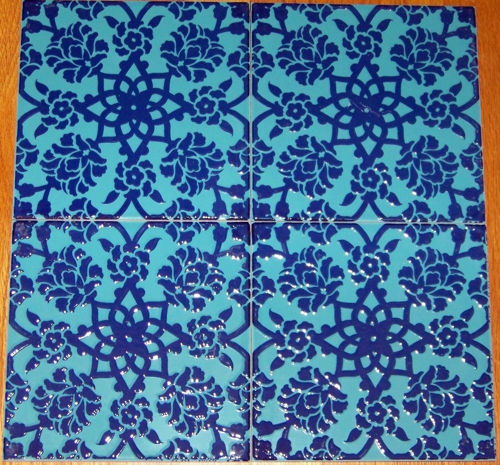 Ottoman Floral Design 12 8\