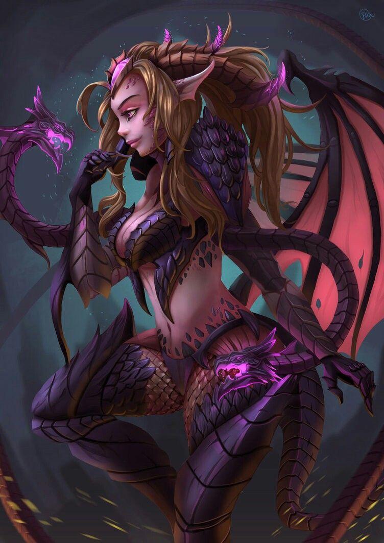 \u2022*Dragon Sorceress Zyra*\u2022 - League of legends