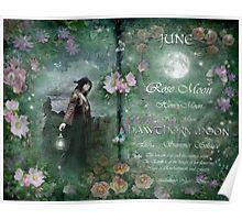 "Photo of ""Juni: Hawthorn Moon"" av Angie Latham"