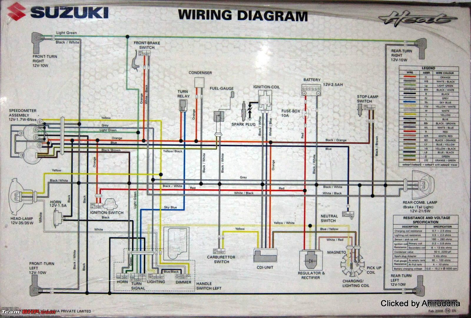 Wiring Diagrams Of Indian Two