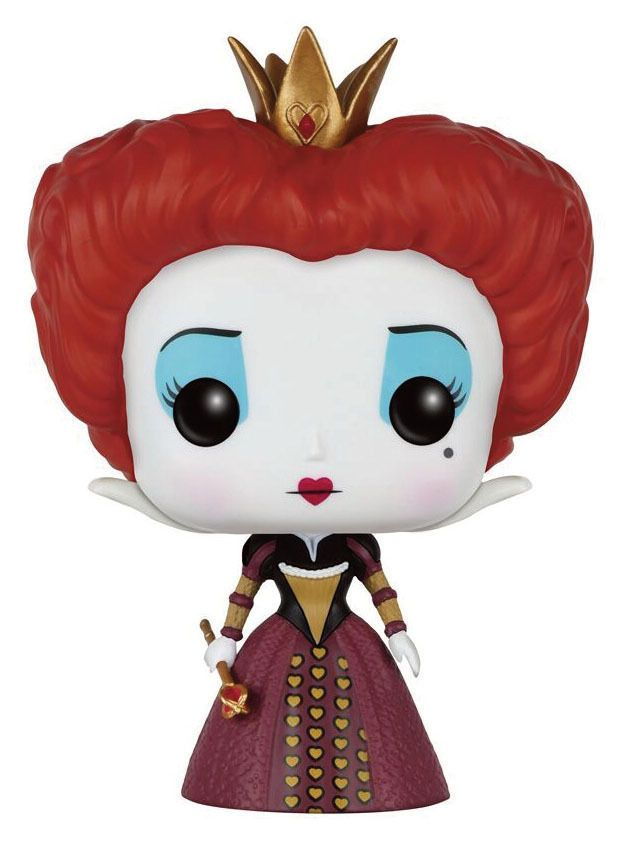 Alice im Wunderland 2010 POP! Disney Vinyl Figur Die Rote Königin 9 cm - Funko