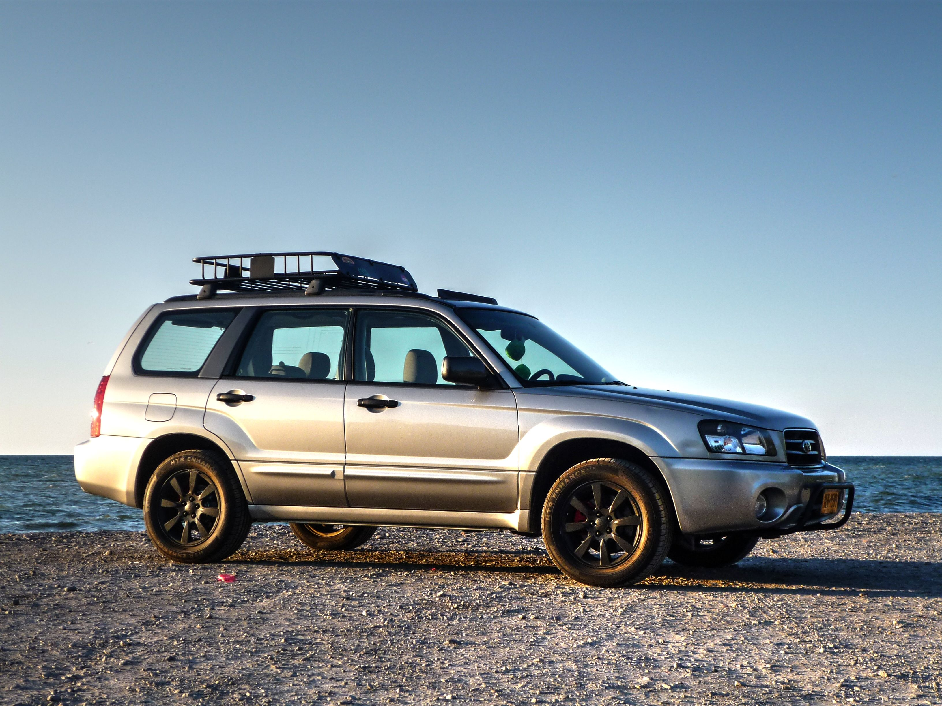 2005 Sg Cgm Crystal Gray Metallic Subaru Forester Foz