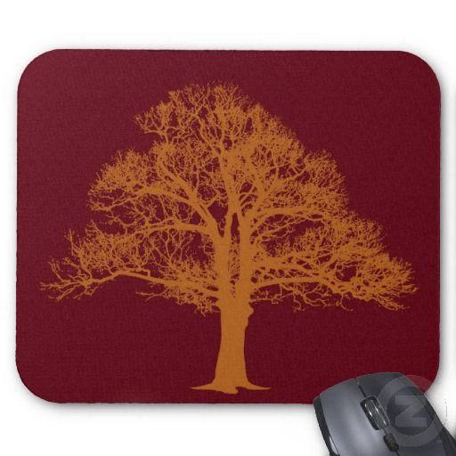 Red Oak Tree Mousepad