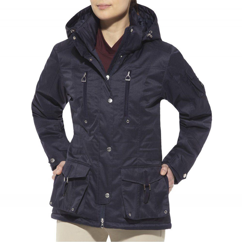 My Winter Jacket Picks Ariat Regent Velvet Rider Parka Ariat Twill Coat [ 1000 x 1000 Pixel ]
