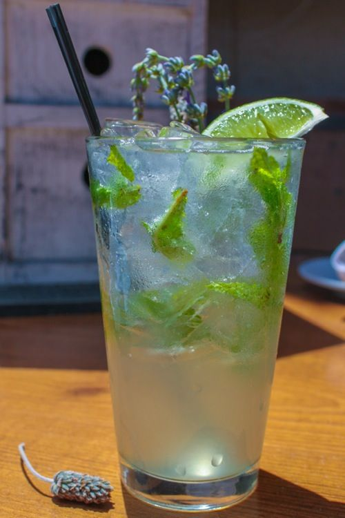 lavender mojito. that is all.