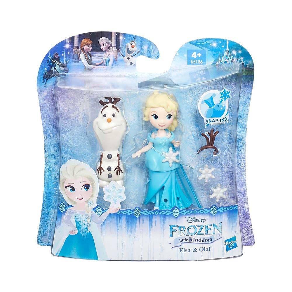 Disney Princess Frozen Elsa Little Kingdom Snap-In Doll Figure Toy