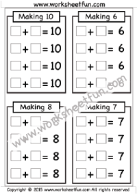Addition 1 Digit Free Printable Worksheets First Grade Math Worksheets Free Printable Worksheets 1st Grade Math Worksheets