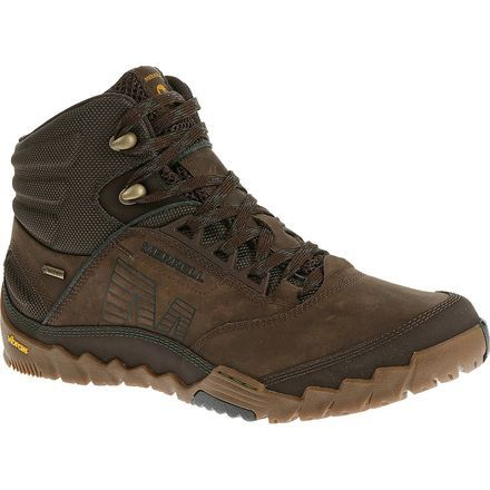 9e0928fa9cb The Merrell Men's Annex Mid Gore-Tex Hiking Boots tackle tough and ...