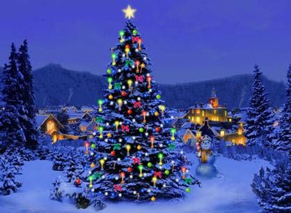 animated christmas lights desktop themes pictures mobile