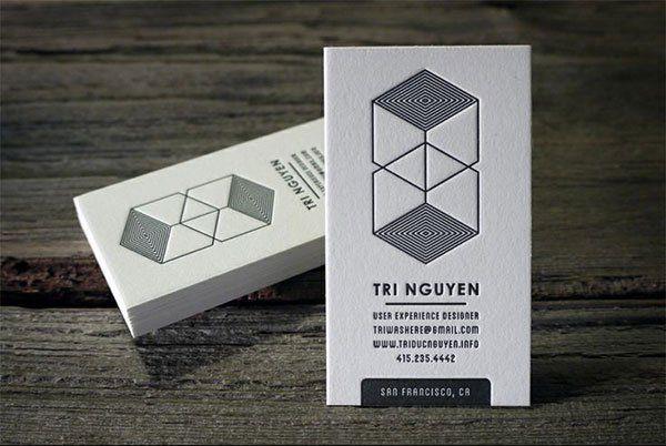 Ux designer business cards