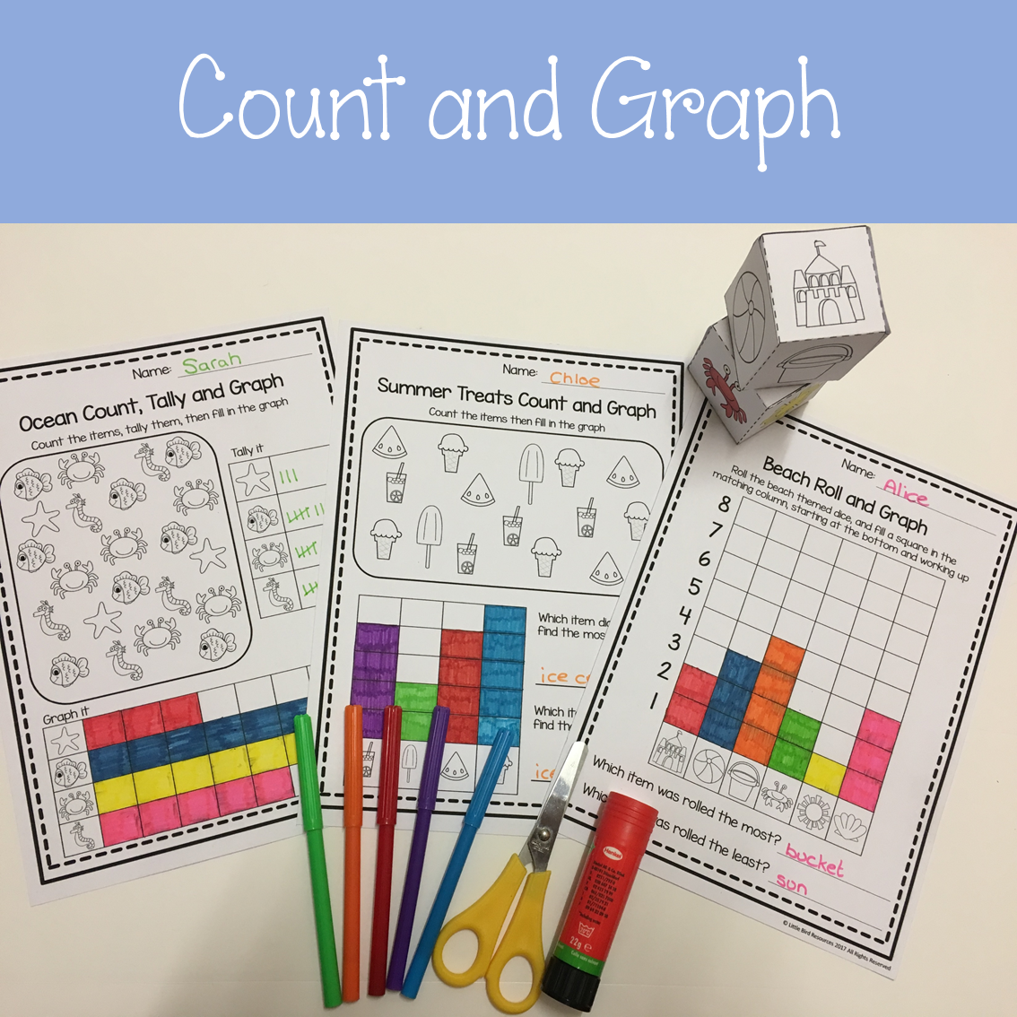 Bar Graphing Activities