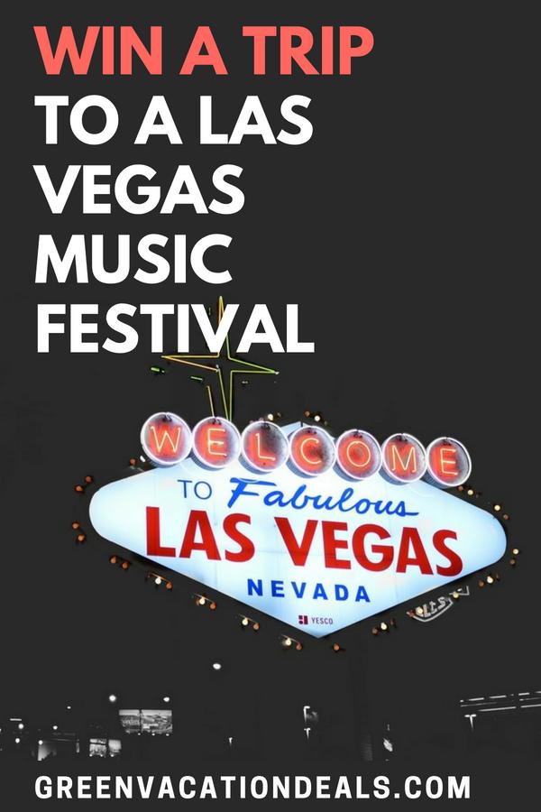 Win A Trip To A Las Vegas Music Festival