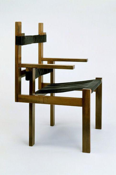 Marcel Breuer Early Slatted Chair Tischlerei Bauhaus